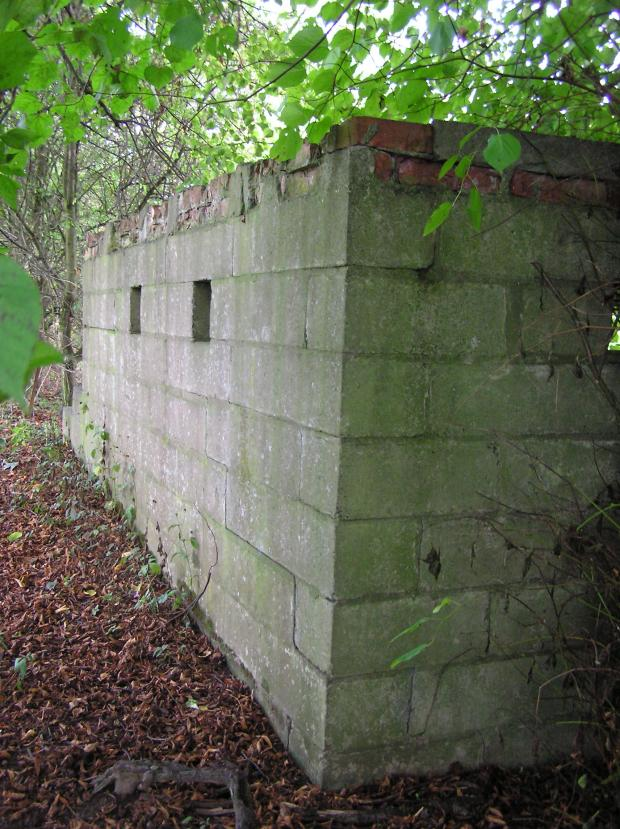 The Northern Echo: One of the pillboxes that are situated on either side of Blackwell Bridge on the south of Darlington