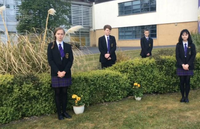 Venerable Bede CE Academy, in Sunderland, students