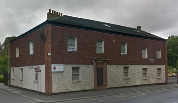 The Northern Echo: The Alexandra, maintenant St. George's Bridge Club, sur Whessoe Road.  Image: Google