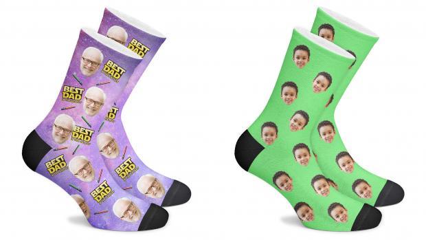 The Northern Echo: aimera une paire de chaussettes personnalisées. Crédit: Face Socks