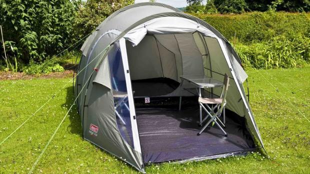 The Northern Echo: une nouvelle tente est parfaite pour les papas qui aiment l'aventure en plein air. Crédits: Coleman
