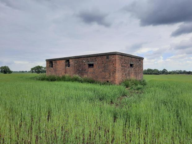 The Northern Echo: The bunker at Scorton airfield, which was home to British Spitfires and American nightfighters