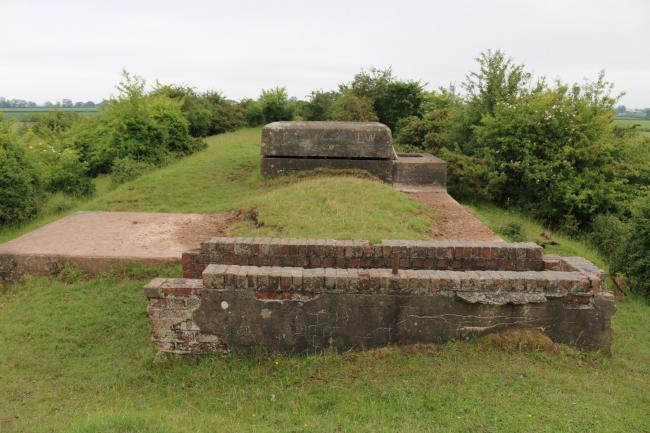 the Croft airfield bunker