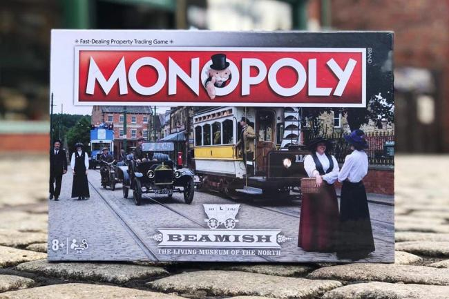 The new Beamish Museum edition of Monopoly