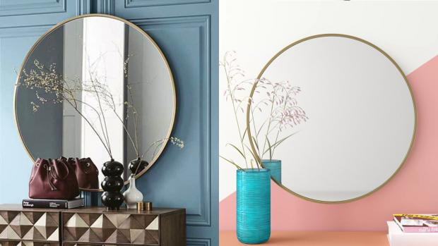 The Northern Echo: A bigger, more modern mirror will create the illusion of more space. Credit: Wayfair