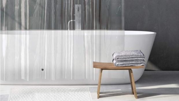 The Northern Echo: A clean shower liner will make your bathroom much more welcoming. Credit: Amazon