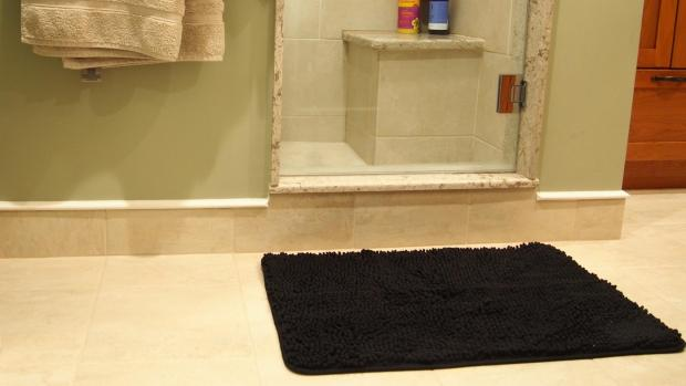 The Northern Echo: A stylish bath mat can brighten up your space. Credit: Reviewed / Kori Perten