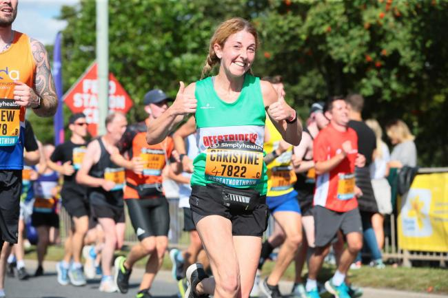 Runners at last year's Great North Run