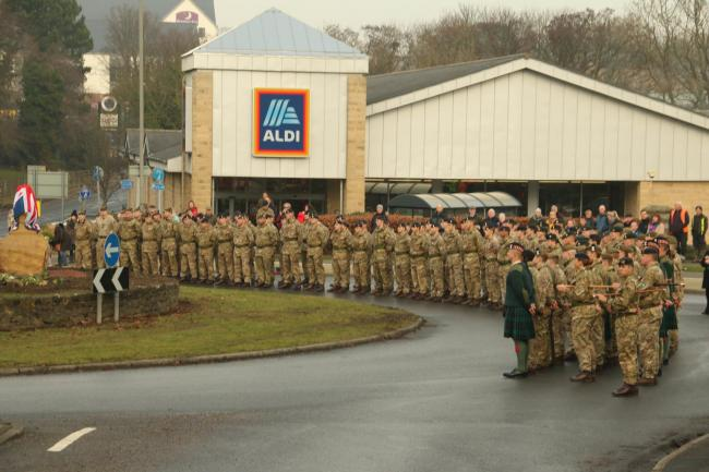 There are over 13,000 troops at Catterick Garrison. Photograph Philip Sedgwick