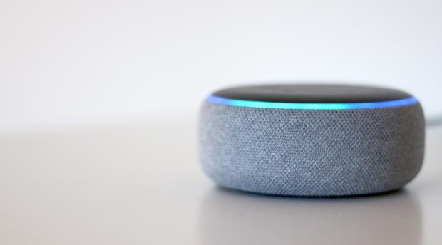 The Northern Echo: The Echo Dot (third-generation) is one of the smallest Amazon Echo smart speakers. Credit: Reviewed / Betsey Goldwasser