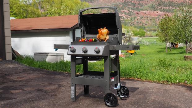 The Northern Echo: The Weber Spirit II E-310 remains the best gas BBQ we've tested. Credit: Reviewed