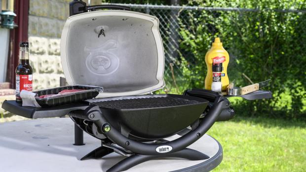 The Northern Echo: The Weber Q is a well-made, versatile portable gas BBQ. Credit: Reviewed / Betsey Goldwasser