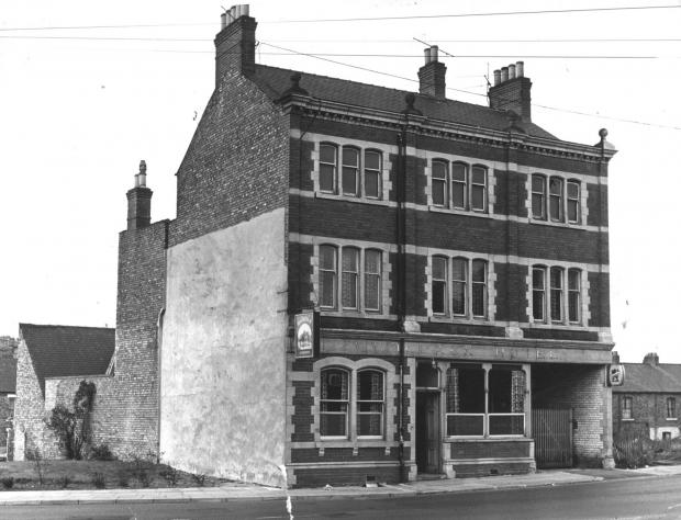 The Northern Echo: The Woolpack in Freemans Place just before its demolition in the late 1960s. Now the Halford's car park is on its site