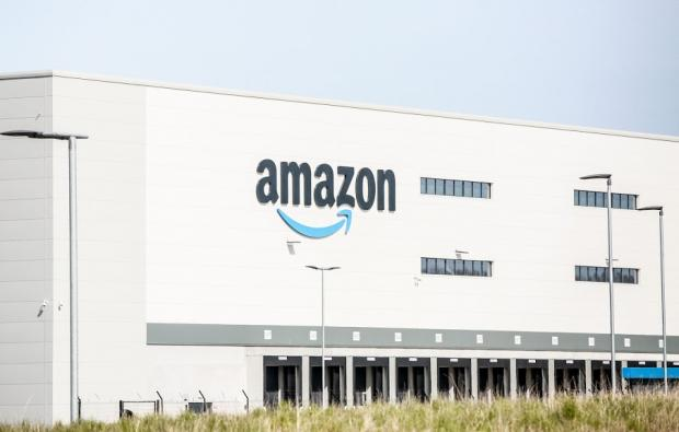 The Northern Echo: Amazon opened its Darlington site earlier this year Picture: SARAH CALDECOTT