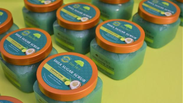 The Northern Echo: This sugar scrub is ideal for exfoliating your body. Credit: Tree Hut