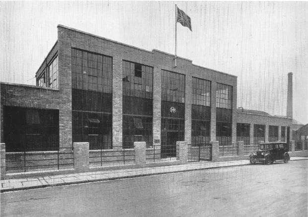 The Northern Echo: The entrance to the Darlington Rolling Mills at Rise Carr in 1932