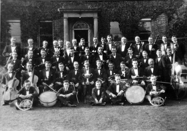 The Northern Echo: Sir Theodore Fry attempted to bring harmony to his workers by providing the instruments for the Rolling Mills Band. It disbanded in 1905 and its instruments were sold to the Cockerton Silver Band. During the Second World War, the Rolling Mills Orchestra,