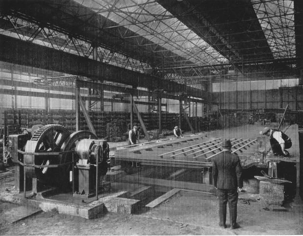 The Northern Echo: Inside the main mill at Rise Carr in 1932
