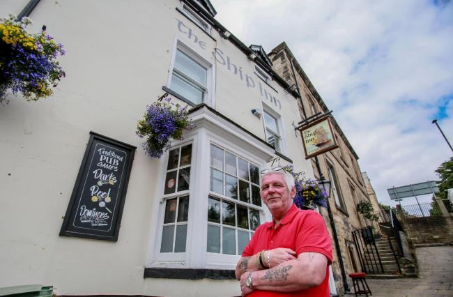 Landlord of the Pub of the Week, The Ship Inn, Richmond, Christopher Barr  Picture: SARAH CALDECOTT