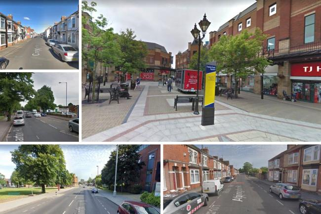 Shopping area among Middlesbrough streets with highest crime this year