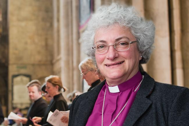 The Bishop of Jarrow, the Right Reverend Sarah Clark , taking over national scheme to encourage young peaople into the clergy