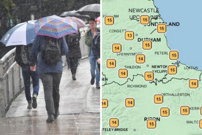 North-East weather forecast as 'sunny conditions' expected to replace heavy rain