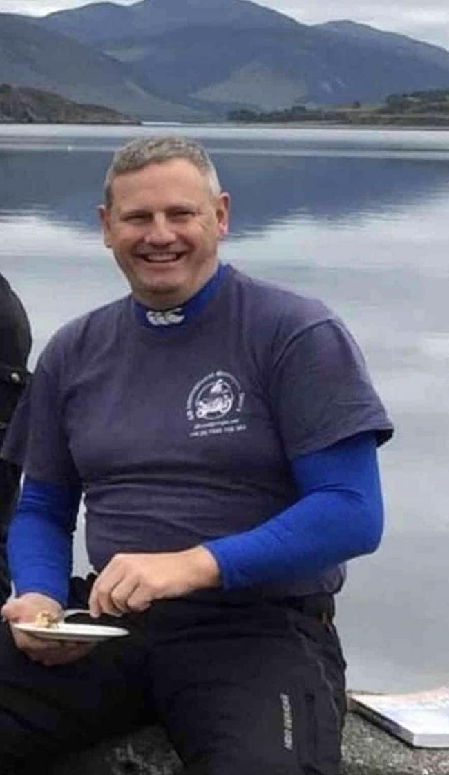 Devoted husband and father Phil Wilson who died in Dales motorcycle crash