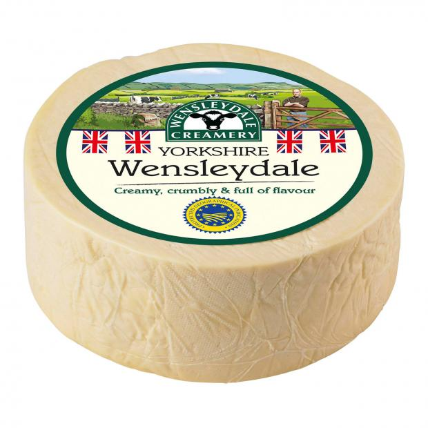The Northern Echo: Wensleydale cheese. Picture credit: Wensleydale Creamery