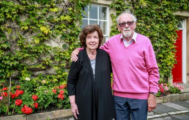 Val and Don Eccles celebrated their diamond wedding anniversary on Thursday
