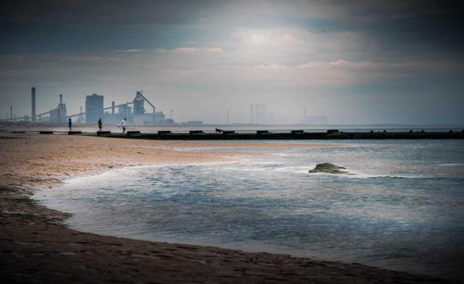An atmospheric shot of Redcar beach from Gary Weatherston of The Northern Echo Camera Club