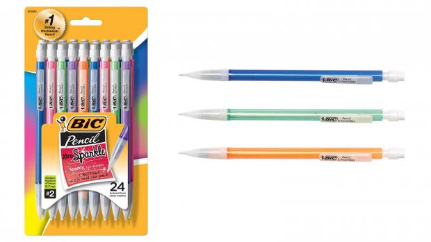 The Northern Echo: A fun pencil means a good test, right? Credit: BIC