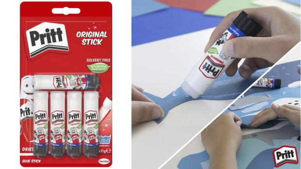 The Northern Echo: Don't worry. These glue sticks are washable. Credit: Pritt