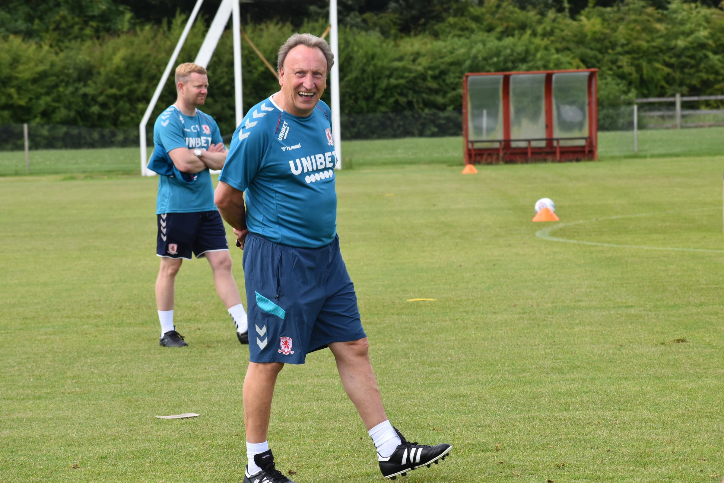 Middlesbrough boss Neil Warnock hoping to make a signing this week
