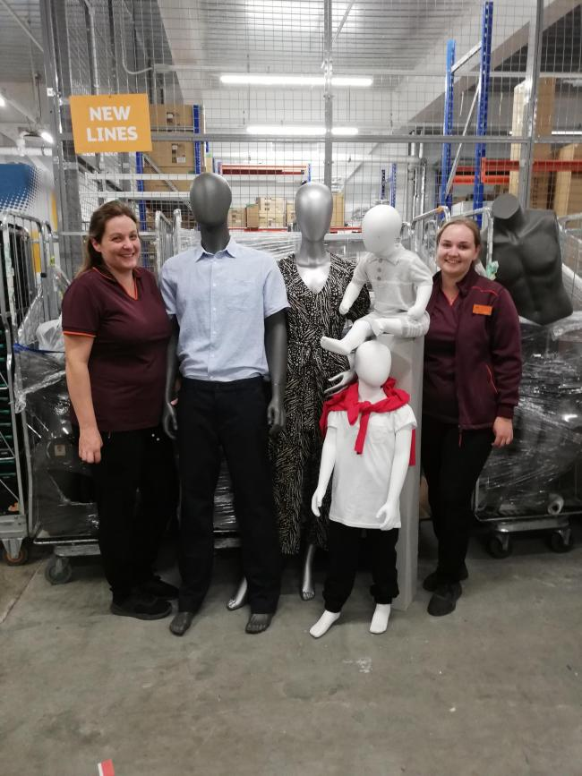 Sainsbury's has some mannequins it wants to give away for free