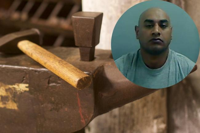 Mozafar Shan attacked his sister-in-law with a hammer