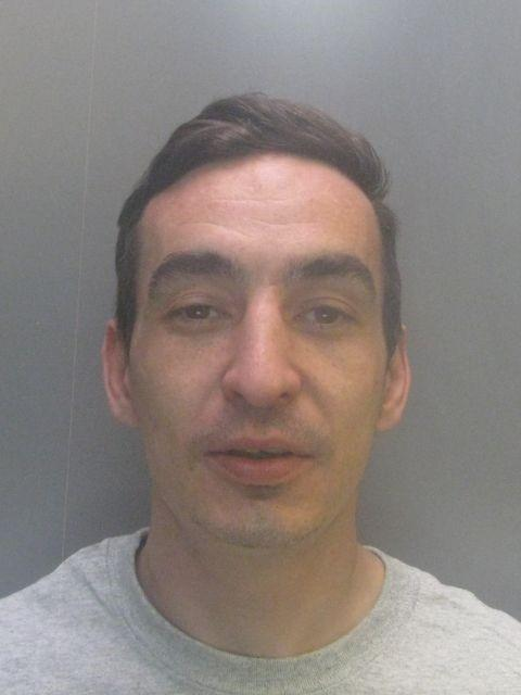 Knifepointrobber Barry Taylor struck at stores in nearby villages within a fortnight of each other, in May
