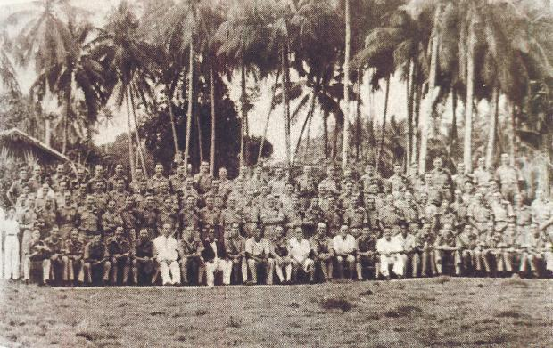 The Northern Echo: 122 Field Regiment of the Royal Artillery in Malaya in 1941 - Bdr Harry Innes is on there somewhere