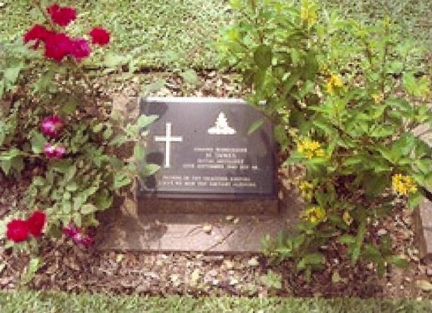 The Northern Echo: Bdr Harry Innes' grave in Thailand