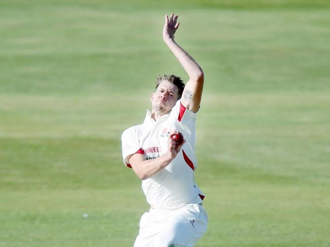 Lancashire bowler Tom Bailey was in fine form against Durham