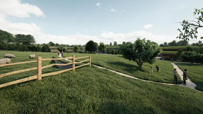 Natural Land's plan to transform the former Linton Camp in the Yorkshire Dales
