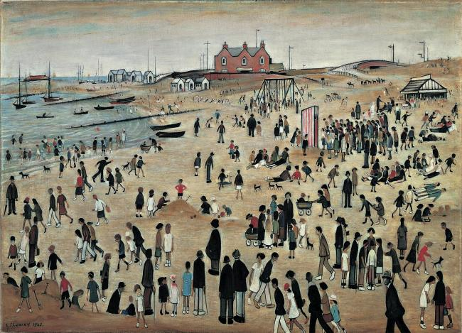 LS Lowry's July, The Seaside                Picture: ARTS COUNCIL COLLECTION/THE ESTATE OF LS LOWRY