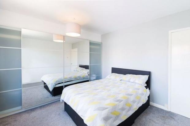 The Northern Echo: A bedroom in the property (Photo: Zoopla)