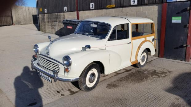 The Northern Echo: Lawrence Owen's Morris Minor Traveller