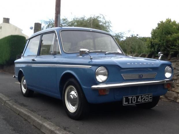 The Northern Echo: Lawrence Owen's 1967 Hillman Imp. Mr Owen's first car was also a Hillman Imp