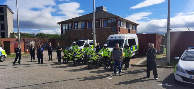 Police have been carrying out Operation Endurance in Middlesbrough