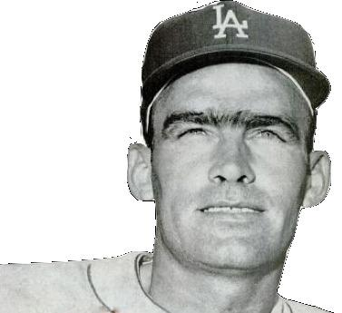 Wally Moon of the Los Angeles Dodgers