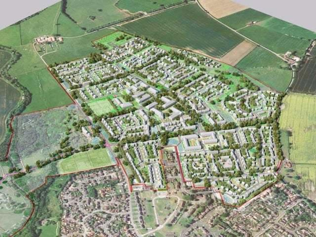 Homes England's proposal to build 1,300 homes on a former Army base