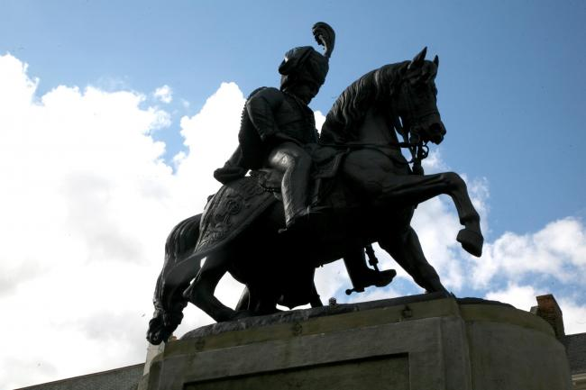The erection in in Durham Market Place of the statue of the third Marquis of Londonderry was as controversial as the man's own life