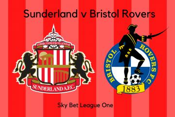 FULL-TIME: Sunderland 1 Bristol Rovers 1