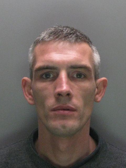 Burglar Kyle Mawson, who was knocked unconscious in confrontation at scene